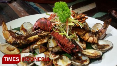Seafood Plater The Sampan Seafood & Grilled Jadi Favorit Bule