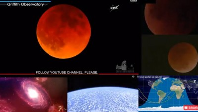 (LIVE) Super Blue Blood Moon dari NASA