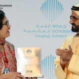 Indonesian Minister of Finance Sri Mulyani Indrawati was Awarded as the Best Minister in the World
