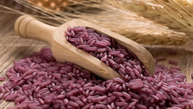 Are You Fed Up Eating White Rice? Let's Try this Purple Rice!