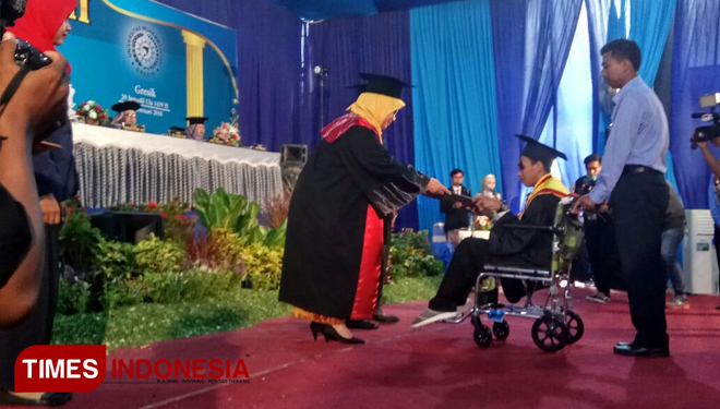 Ali, the Inspiring Disabled Student
