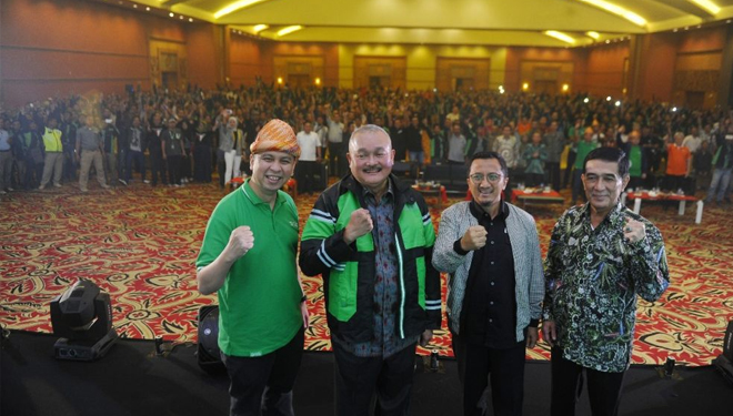 Grab Bakal Menjadi Official Partner Asian Games 2018 di Kota Palembang