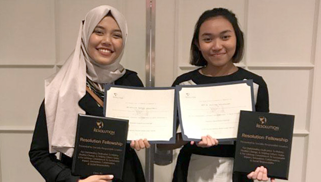 Processing Fish Waste Into Diesel, Two ITS Students Got Award