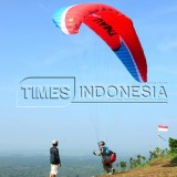 Flying Above the Sky of Tumpuk Mount