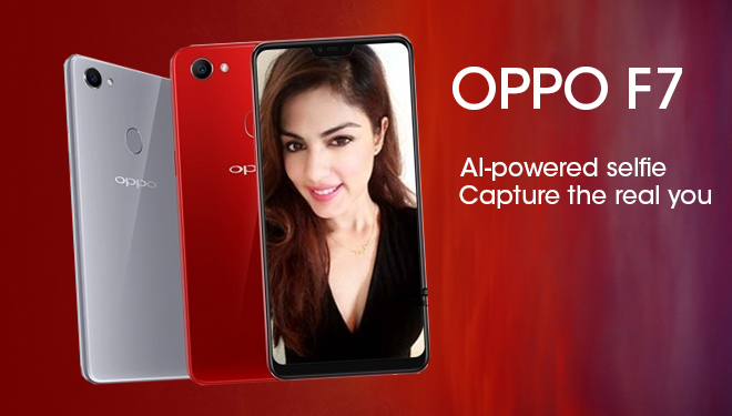 OPPO Is Ready to Release OPPO F7 Special Edition