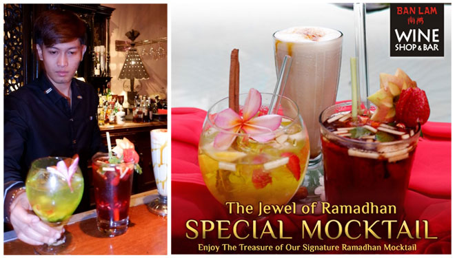 Fresh Mocktail of Special of Ramadhan Exists at Hotel Tugu Malang