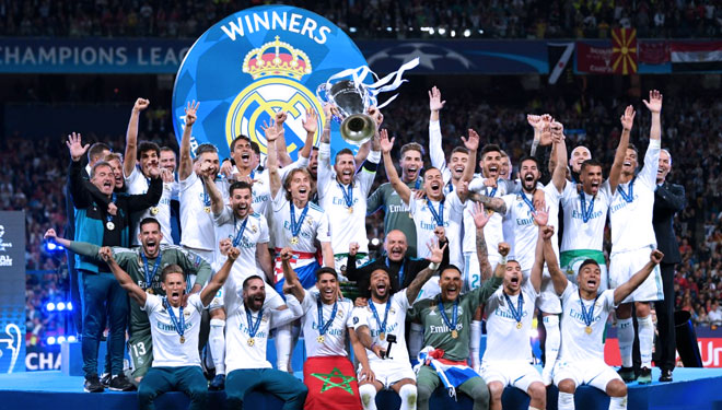 Real Madrid Completed Their Third Straight UEFA Champions League with Triumph