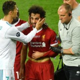 Injured, Mohamed Salah Left Out the Field