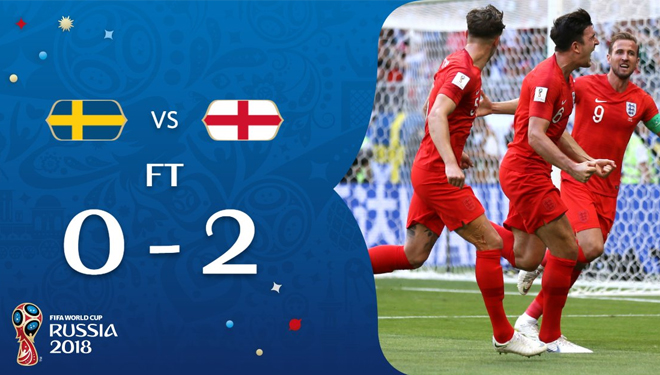 Sweden 0-2 England: The Three Lions Team Goes Ahead to Semifinal
