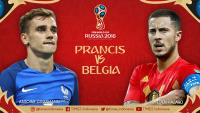 France vs Belgium: World Cup semi-final, Which Team is Invincible?
