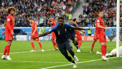 World Cup Semifinal 2018. France Vs Belgium: 1-0. France Goes to Final