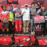 Final Banyuwangi International BMX Diwarnai Insiden Terjatuh