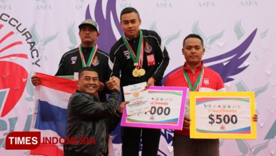 Kejuaraan Paragliding Accuracy World Cup 2018 Resmi Ditutup