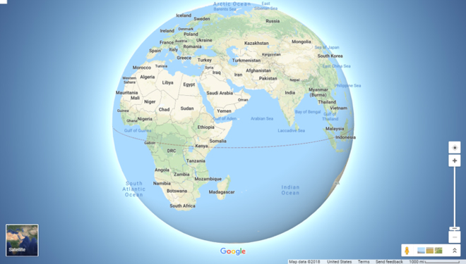 Looks Round, Google Maps Releases 3D Globe Mode | TIMES ... on google earth live view, google earth street view, google earth world map, google earth home, google earth map high resolution, google earth app, google earth in 3d models, google earth united states, google earth 6 3d, google earth pro, google earth search, google earth satellite, google earth map pakistan, google earth map art, google maps street view, google earth map funny, google earth missouri, google earth map globe, google maps cape town south africa, google earth autocad,
