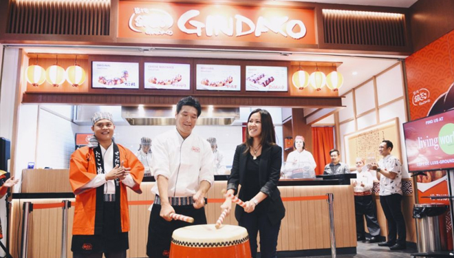 Kawan Lama Group Presents Gindaco Takoyaki from Japan