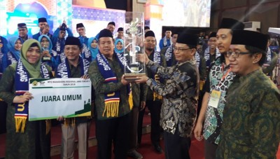 UM Malang Achieves a Hat-Trick of Regional MTQ General Championship of East Java V, UIN Malang in the Second Place