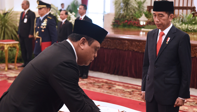 Jokowi Inaugurates Syafruddin as Minister of PAN - RB