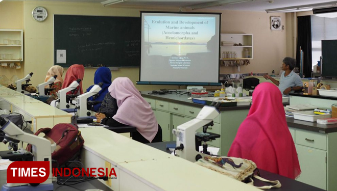 The Students of UIN Malang Joining Sakura Science Program in Japan