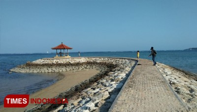 Mertasari Beach in Denpasar, an Exciting Place for Family Vacation