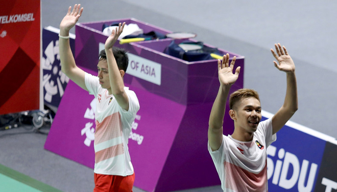 Indonesia definitely will obtain Gold from Men's double of Badminton