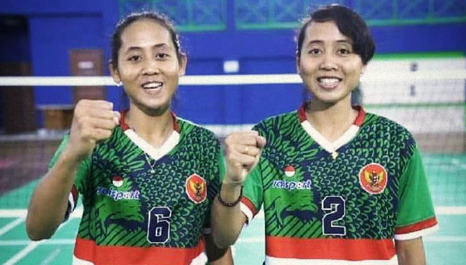 The twin daughter, Lena and Leni, Keep struggle for the Achievement of Indonesia