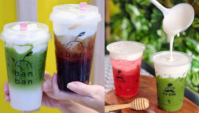 Cheese Tea, Tea Beverage Adopted from Taiwan