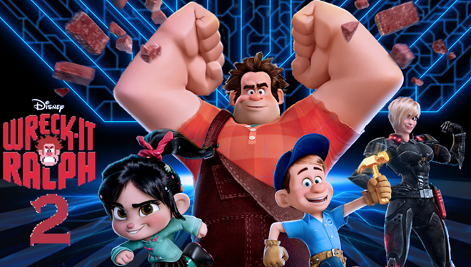 'Wreck-it Ralph 2' Dominates U.S box office this Weekend