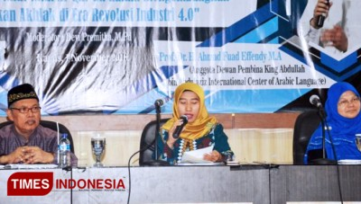 The International Seminar by HMJ UIN Malang Discusses the Fourth Industrial Era