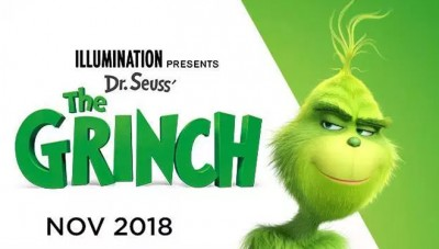 'The Grinch' Curi Posisi Puncak Box Office AS