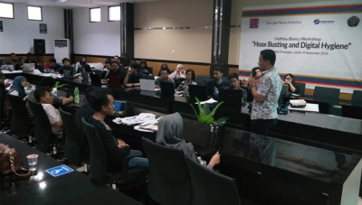 AJI Gandeng Internews dan Google News Initiative Sosialisasikan Cara Hadapi Hoax