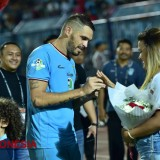 Captain Persela Recorded historical Engagement moment at Stadium