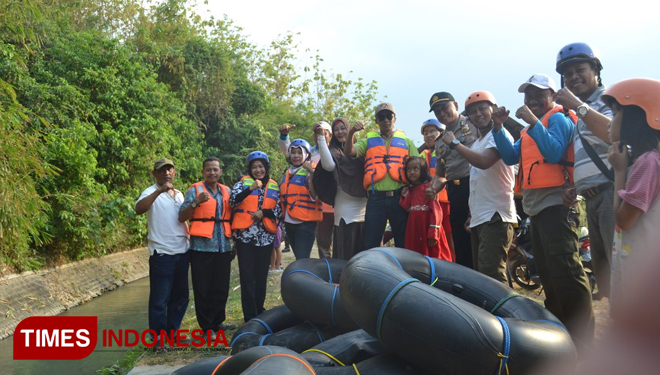 Tingkis Village in Tuban Establishes River Fun Tubing