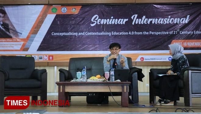 The Theme of National Seminar Held by DEMA FITK UIN Malang