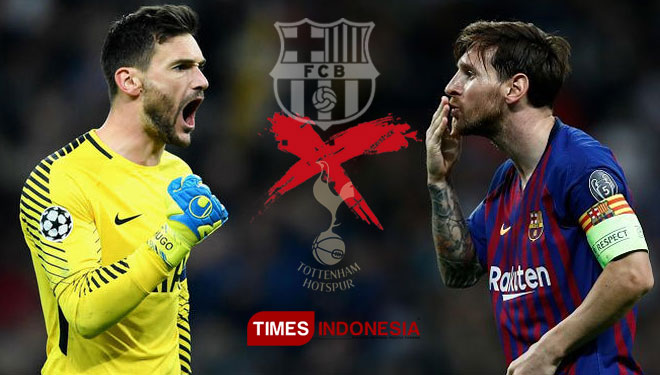 Lloris Optimistis Tottenham Bisa Redam Messi