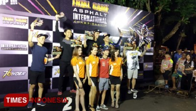 Gerry Salim Raih Podium Pertama Trial Game Asphalt Supermoto Malang