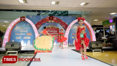 Lomba Busana Semarakkan Christmas Holiday Sensation di Matos
