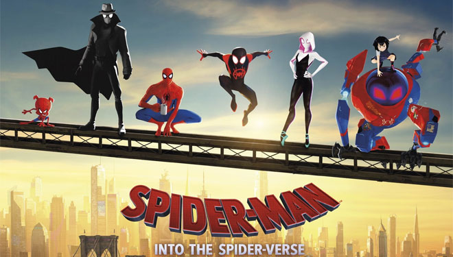 'Spider-Man: Into the Spider-Verse' Lompat Puncaki Box Office AS