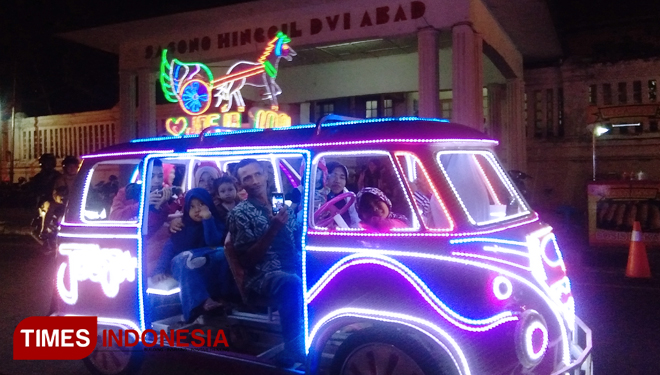 Christmas and New Year Vacation at Malioboro, Yogyakarta