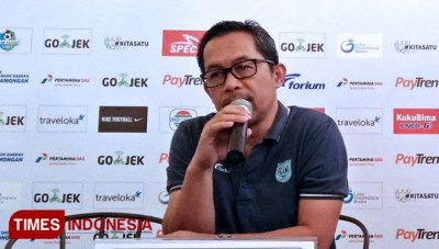 Persela Coach, Aji Santoso Gave Message for Saddil Ramdani