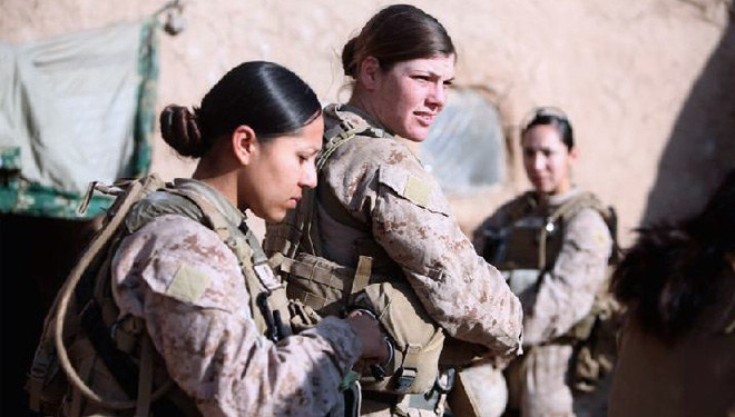 Firstly in the History, the US Marine Corps will integrate Men and Women during Boot Camp