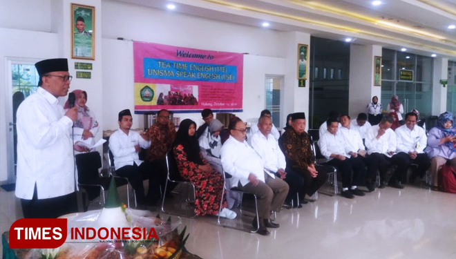 Rayakan 2nd Anniversary Program English for Staff, Unisma Malang Menuju World Class University