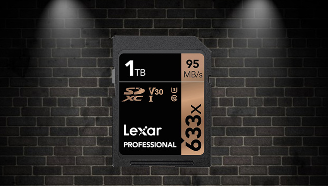 Lexar Launches World's First of 1 TB SD Card, How much is it?