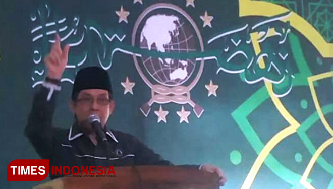 ISNU Chairman Asked Participants of ISNU East Java's Event to do STMJ