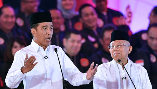 Jokowi Won in the Polls before the Prime of Presidential Election's Debate 2019