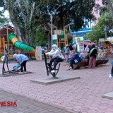 Free Fitness Equipments at Alun – Alun Malang