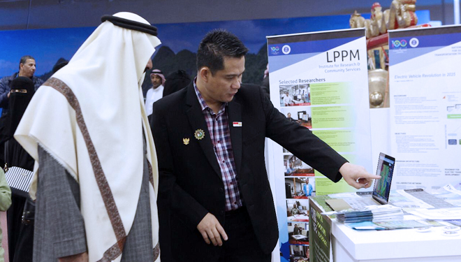 The Desert Storm Detector's Tool Made by ITB Lecturer Exhibited in Saudia