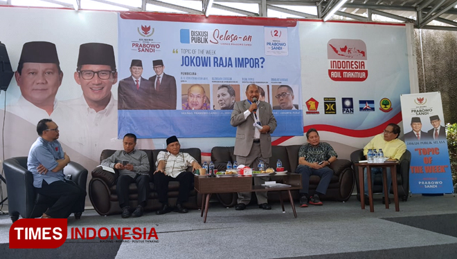 Ombudsman RI: Jokowi's Government is the King of Import