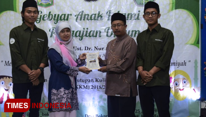 The Students of UIN Malang Held Islamic Event in Bokor Village
