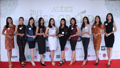 Miss Grand Bali 2019:  Resulted Top 10 Finalists