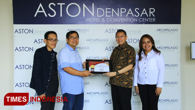 Aston Denpasar Hotel Officially Gets Their 5 Stars Certificate from iGuides TIMES Indonesia